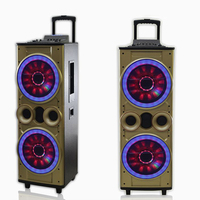 MBA bluetooth speaker bass box high power amplified speaker box portable audio