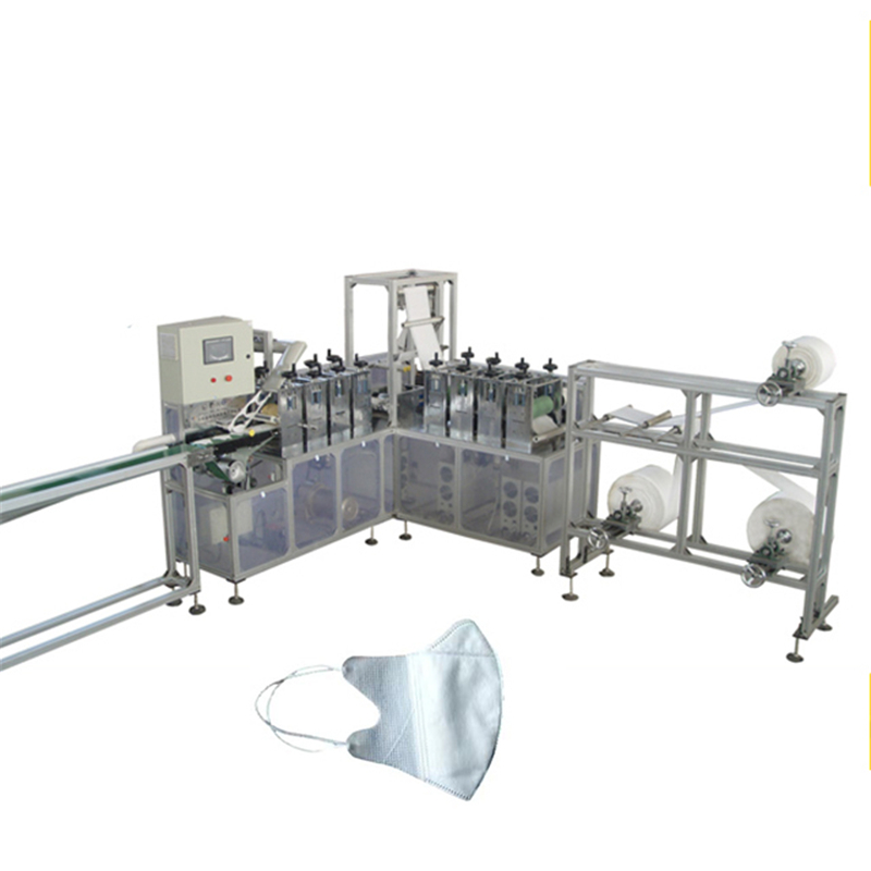 Top quality mask machine nonwoven filtered mask machinery