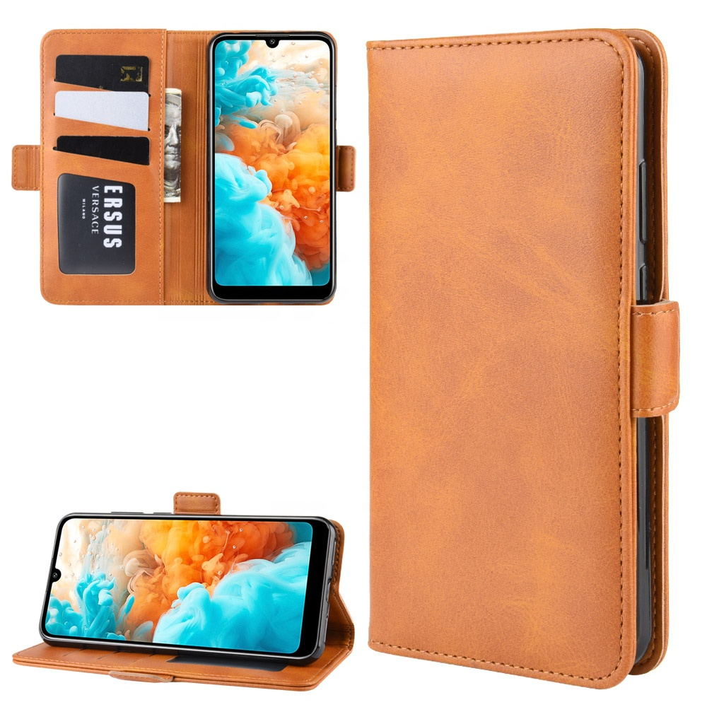 Flip pu tpu leather stand mobile <strong>phone</strong> back cover For Huawei Y6 Pro 2019 hybrid case, <strong>phone</strong> shell For Huawei Y6 Pro 2019