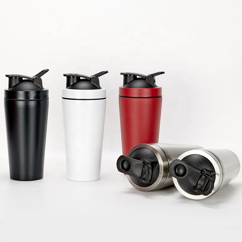 Gym <strong>Sports</strong> Stainless Steel Protein Shaker Bottle Metal Custom Wholesale Shaker