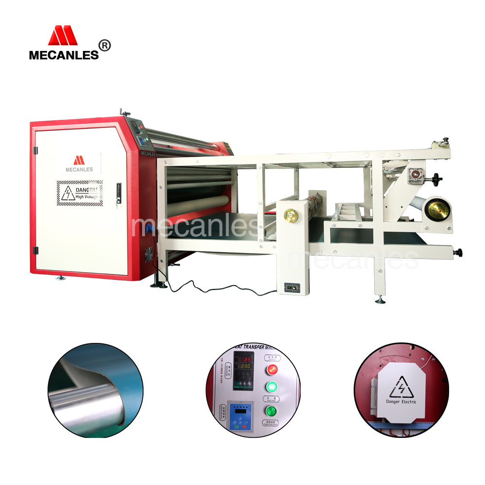 roller heat press/ sublimation transfer printing