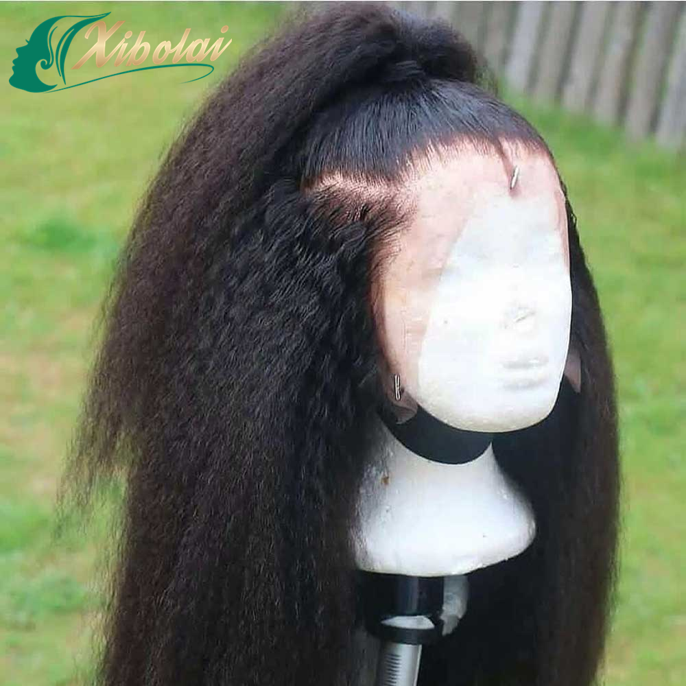 JcXBL Factort Direct wholesale human lace wig,Raw virgin cuticle aligned human hair kinky afro wigs,kinky straight lace front