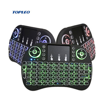 general mini keyboard for android tv box i8 keyboard mouse with touchpad