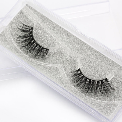 wholesale mink eyelashes 3d mink eyelashes custom eyelash box packaging <strong>D014</strong>