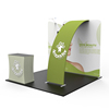 Foldable Tradeshow Backdrop Exposition Stand 10 X 10