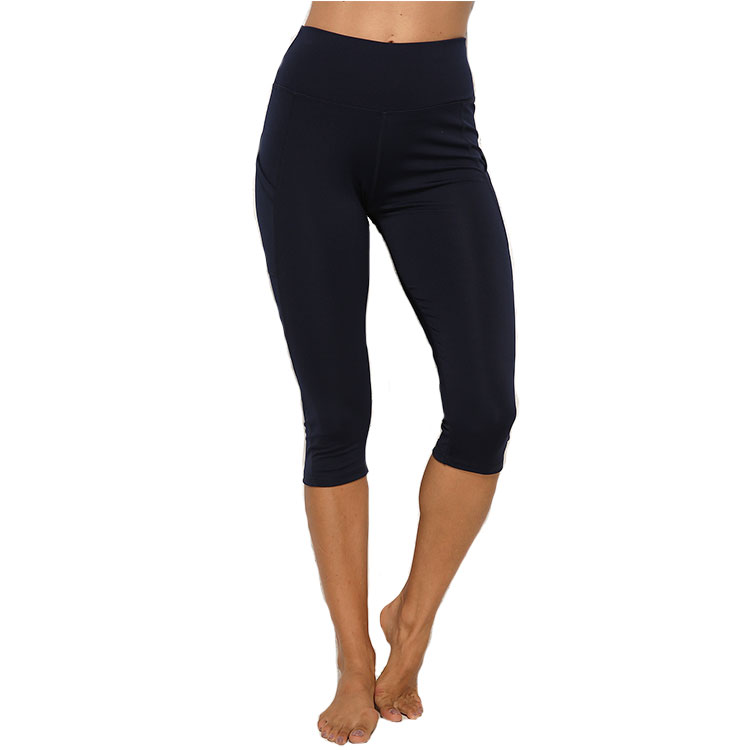 2020 Yoga Capris Fitness Running 3/4 Pants Women Slim Compression Leggings