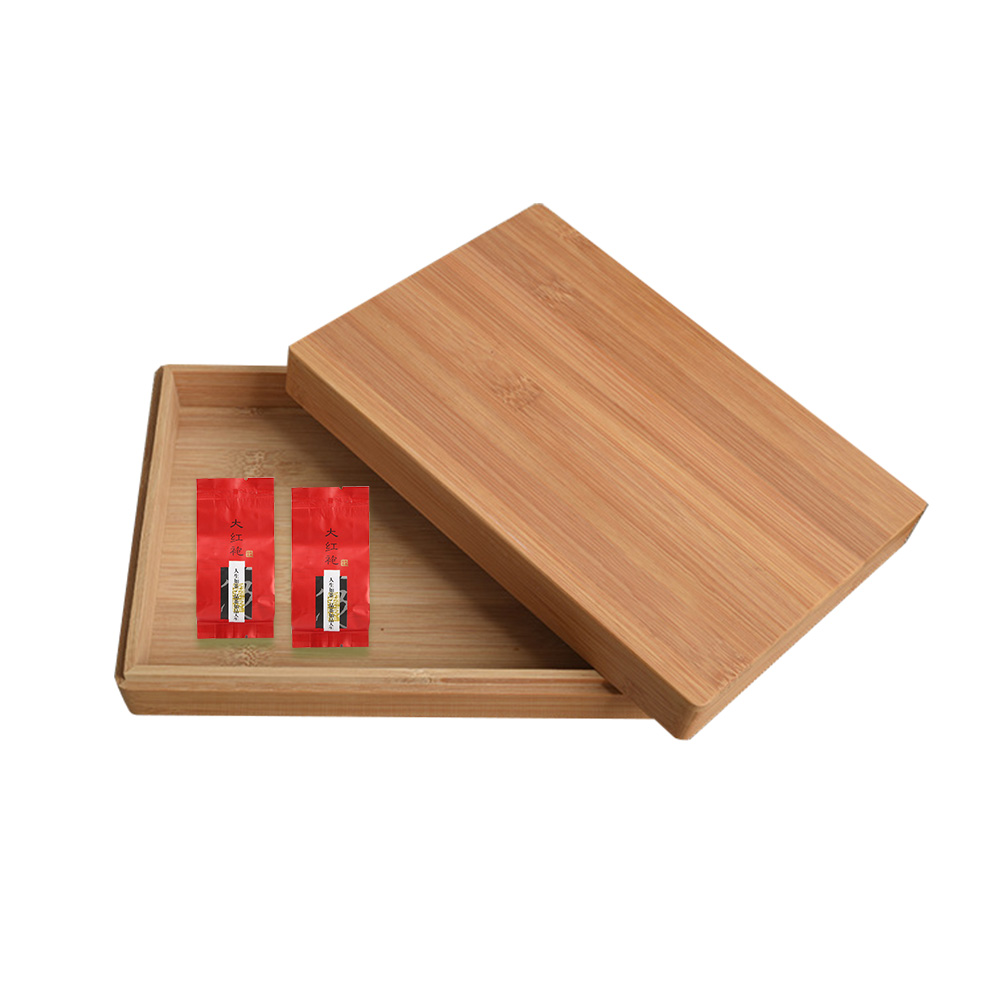 buy best hot selling custom natural solid wooden tea storaging gift box tea box