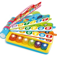 Baby Educational Musical Toys Book Shape Kids Learning Machine With Piano Keyboard BSCI Five Star