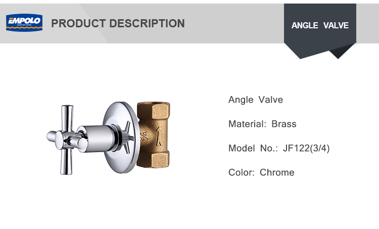 "Wholesale 3/4"" brass toilet connector ball cock 90 degree angle valve"