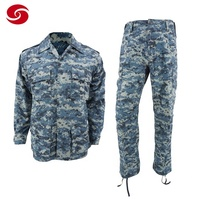 Navy Digital Camouflage Army Security Uniform for Middle East