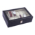 CY-WB1754 Black Leather Watch Gift Box Manufacturer In China