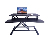 Standing Desk, Height Adjustable Stand Up Desk Gas Spring Riser Converter Sit to Stand Desk