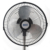 3 Leaf support height adjustable power digital 120 minutes timer electric standing fan 10 inch