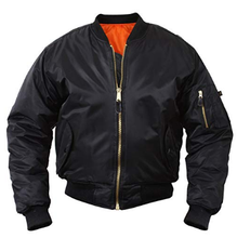 Flight Jacket Fully Reversible Rescue <strong>Orange</strong> Lining