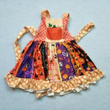 <strong>Girl's</strong> oversized cotton shoulder <strong>dress</strong>, pumpkin fashion Pleated <strong>Dress</strong>