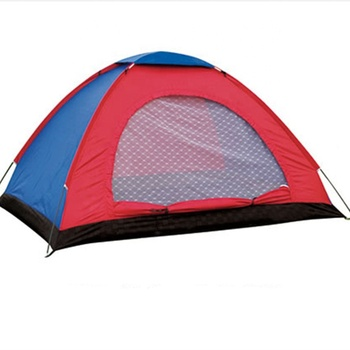 2-3 People Anti-mosquito Single layer manual tent outdoor tourism climbing double camping picnic tent