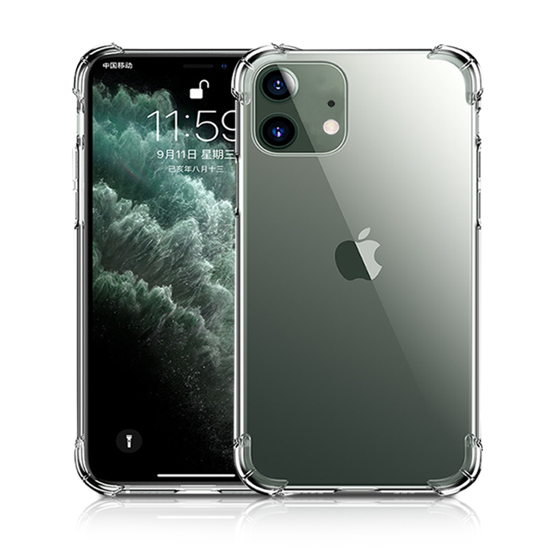 New Wholesale Sublimation Shockproof Transparent Clear TPU Mobile Phone <strong>Case</strong> For Iphone11 Pro Max <strong>Case</strong> Cover 6 7 8 X XR XS Max