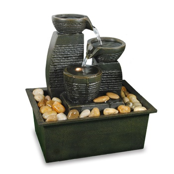 hot sell 3 tier tabletop small water fountain