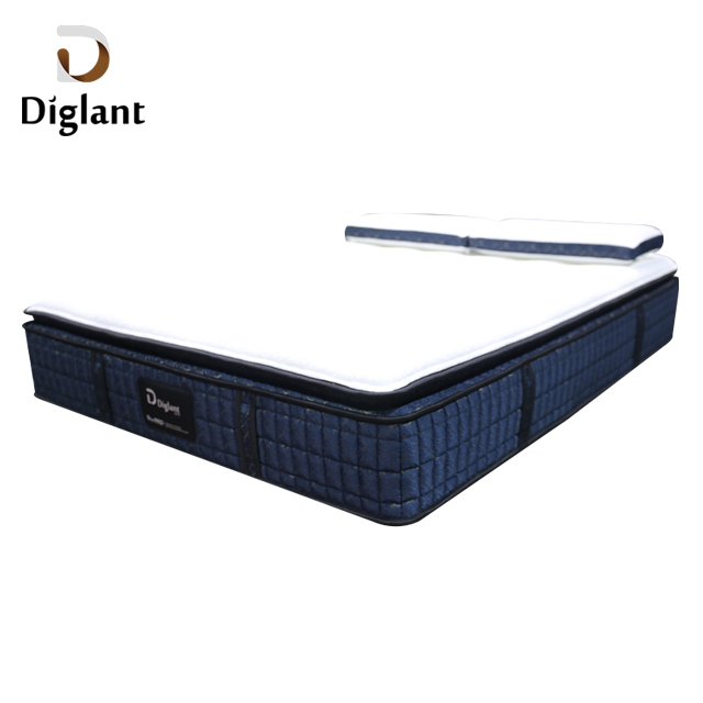 D38 Diglant high quality latex 5 star 12 inch queen king bedroom inflatable pocket spring xxxn foam memory hotel mattress - Jozy Mattress | Jozy.net