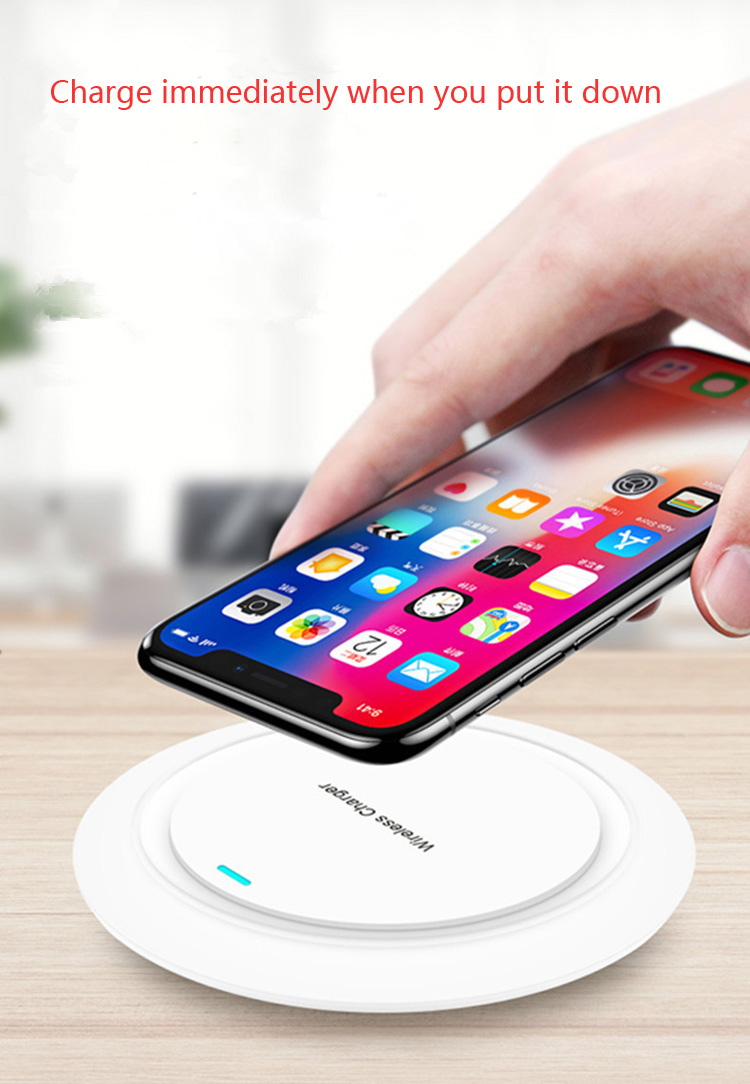 2019 New Product wireless inductive charger pad 10W fast charging wireless charger
