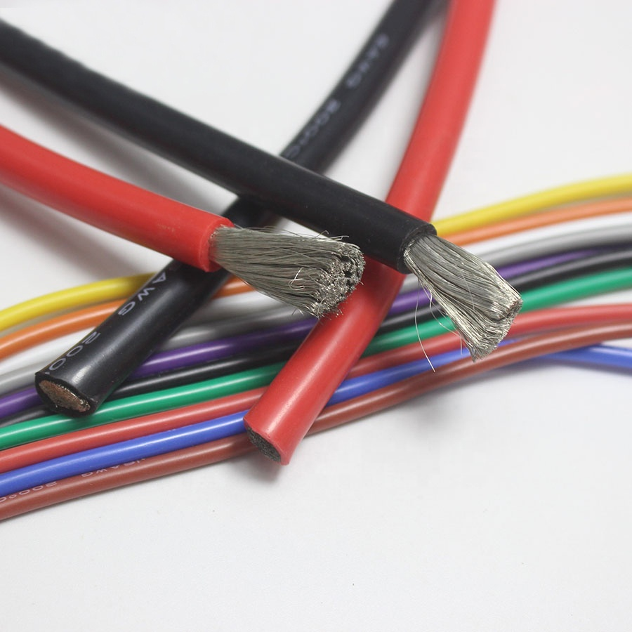 10awg red ultra flexible silicone <strong>wire</strong> High Temperature Cable heater hook up <strong>wire</strong>