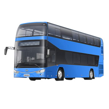 China Bus Model 60-65 Seater Full Closed Top Double-decker Sightseeing Bus for Tourism