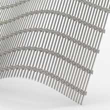 XY-M4235 Architectural Wire <strong>Mesh</strong> Custom-Woven Metal Fabric Facades