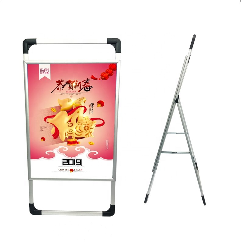 hot sell portable advertising <strong>display</strong> stand <strong>A0</strong> A1 A2 aluminum alloy poster frame