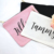 Custom printed zipper pouch bag makeup cosmetic eyelash canvas cotton cosmetic makeup bag with high quality product