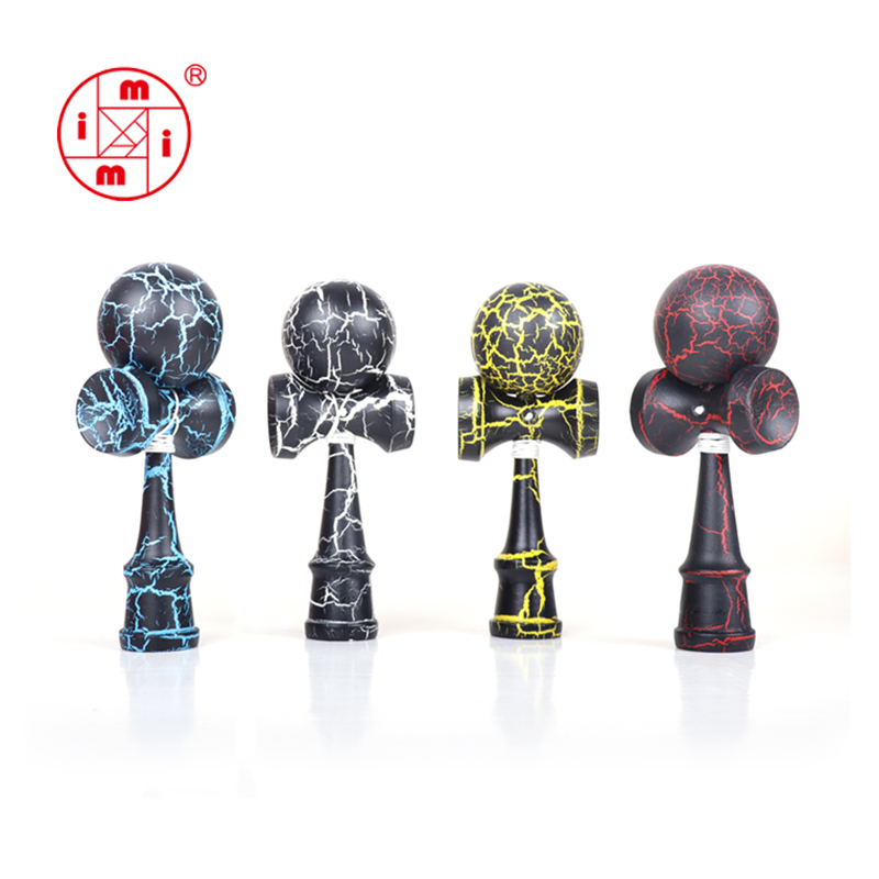 Fun wooden skill <strong>toy</strong> Japanese traditional kendama solid ball <strong>toy</strong> hot seller