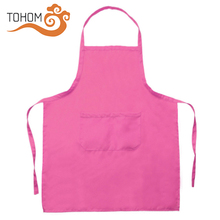 High Quality Custom Printing Polyester Cooking Kitchen Chef Bib Apron For Men Women