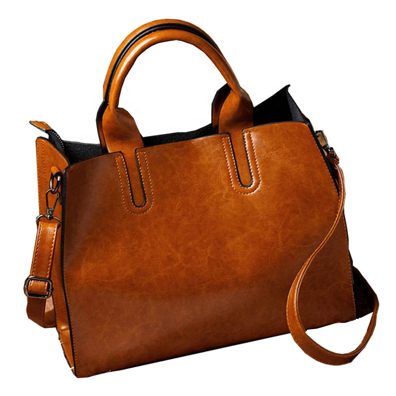 wholesale price High Quality Casual Women Leather Bags Handbag Trunk <strong>Tote</strong> Ladies Shoulder Bag