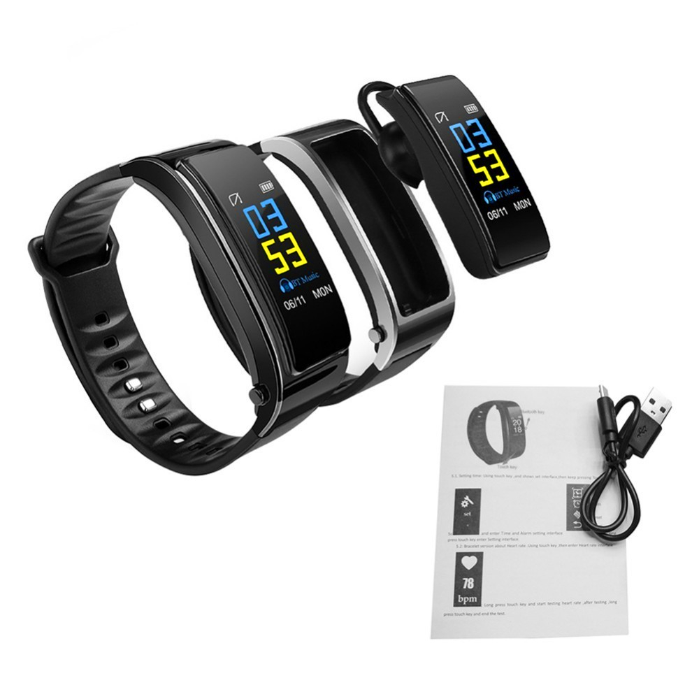<strong>Y3</strong> Plus Smart Band Wristband Talk Bracelet Heart Rate Monitor Bluetooth Earphone Smart Band