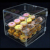 CustomizedLockable 2 Tiers Acrylic Display Box Clear Bakery Display Cabinet