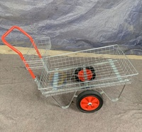 garden centre plant trolley nursery cart greenhouse trolley cart