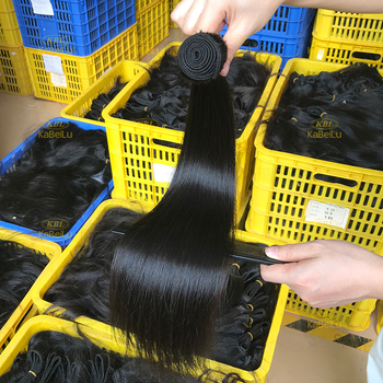top tangle free wholesale price machine double weft natural black mink hair bundles