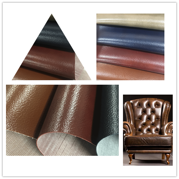 High Quality Pvc Leather Material For Furniture