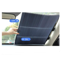 Full Color Printing Foldable Car Sunshade, Polyester Car Sun Shade, Nylon Car Shade