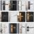 Luxury Black Lever Door Handle Fast Delivery Manual Door Lock