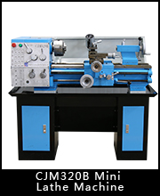CZ1224G sieg mini lathe small size metal lathe tools machine