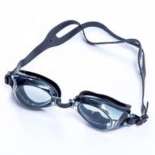 Sports eyewear wholesale FDA approved silicone frames junior swimming goggles for girls and men