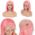 Pink Orange Blue Red 613 Blond Color Wig Brazilian Virgin Human Hair Colored Bob Lace Front Lace Wig In Stock