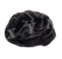 Large Stock Cheap Price Hair Wig For Men Bond Base Mono Lace NPU Hair Toupee High Durable <strong>Material</strong> Hairpieces