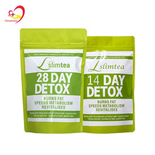 14 days /28 days Detox Slimming Tea For Loss Weight Boost metabolism Cleanse Detoxify