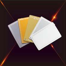 0.24mm Thickness Blank Sublimation Metal Business <strong>Card</strong>