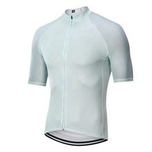 Hot sale style Italy MITI fabric <strong>cycling</strong> tops quality white bike shirt men <strong>cycling</strong> jersey