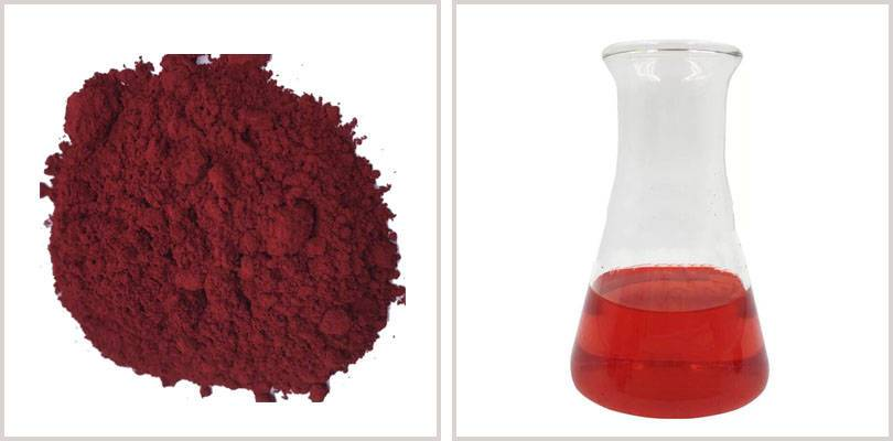 Crude quality red solvent dyes CI solvent red 24 plastic paint ink dyes