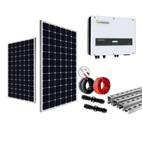 energia solar energy solar 5kw 10kw 15kw 20kw 30KW on grid 50KW 100KW grid solar electricity generating system