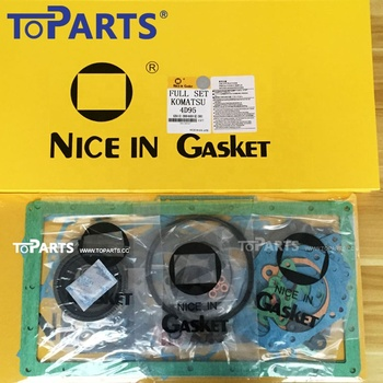 6207-K1-9901 Engine gasket kit S6D102 S6D95 Excavator engine parts repair parts