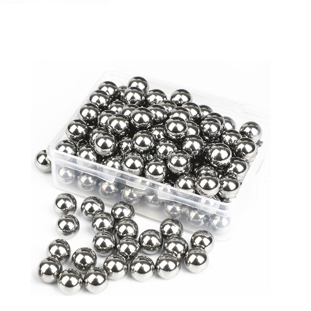 10 unidades bacatus en Bonn Acero inoxidable perla hohlkugel bola brillante 10 mm
